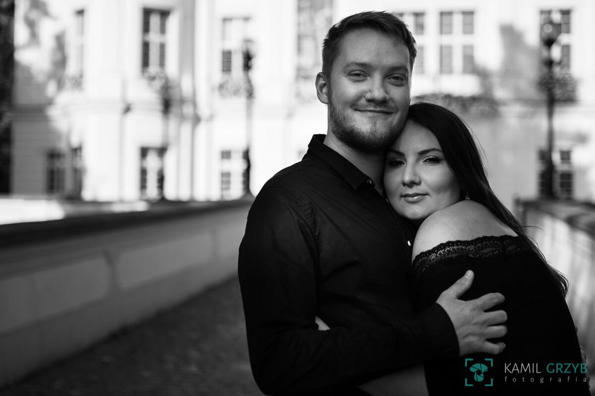 Fotografia ślubna Wrocław - sesja narzeczeńska Asi i Przemka