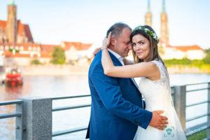 Fotografia ślubna Wrocław - sesja plenerowa Joanny i Tomasza - kgfotografia.pl