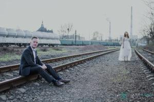 Fotografia ślubna Wrocław - sesja plenerowa Asi i Przemka - kgfotografia.pl