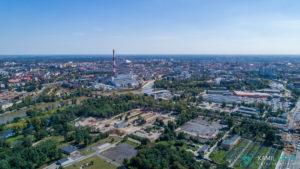 Fotografia z drona Wrocław - kgfotografia.pl